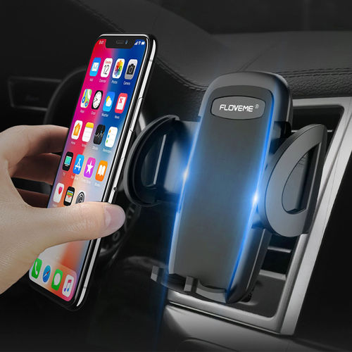 Floveme Universal 360 Rotation Car Air Vent Mount Phone Holder